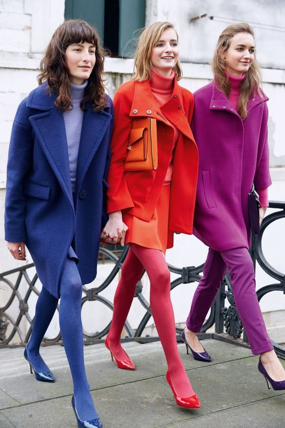 Color blocking 2019