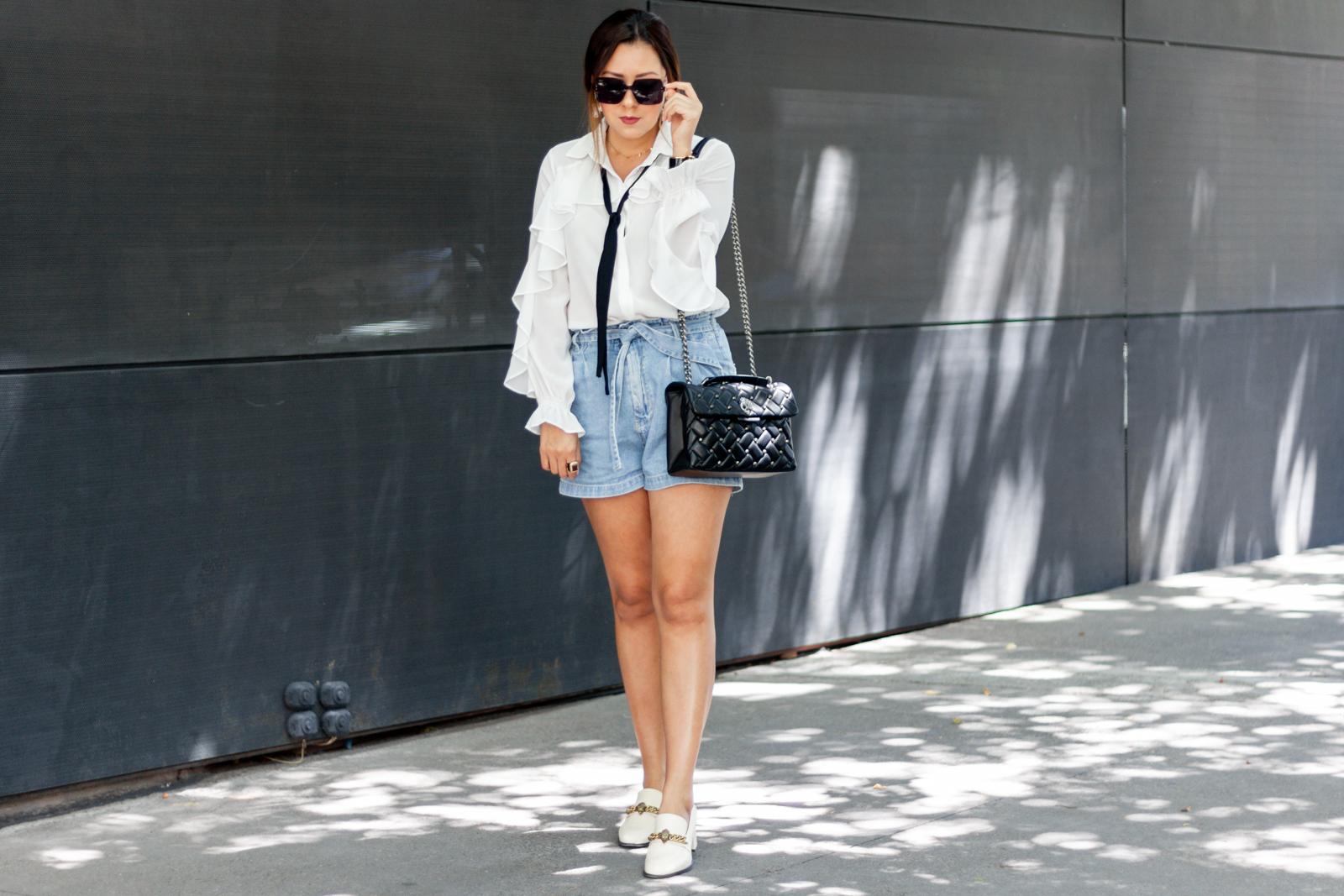 Un look con prendas básicas