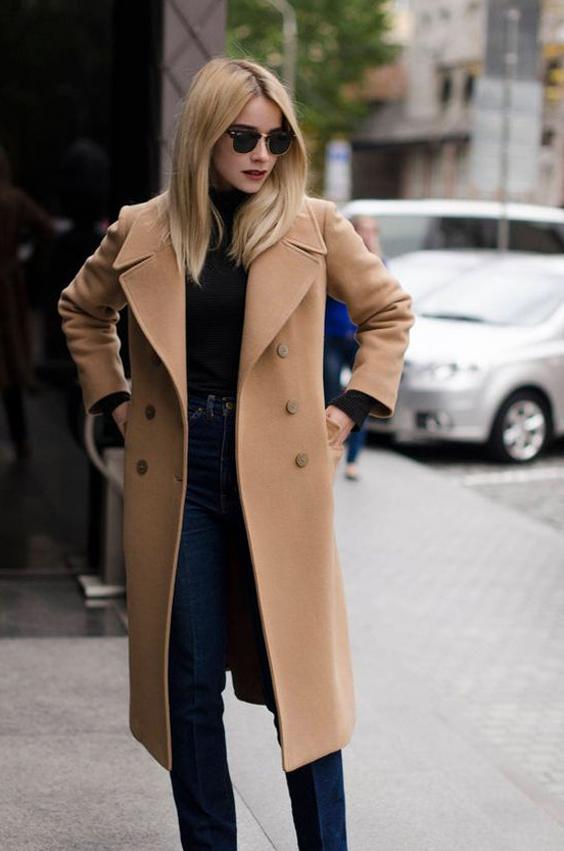 Abrigo beige - la prenda de la semana